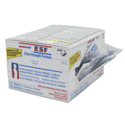 Zee Medical PainAid ESF box open